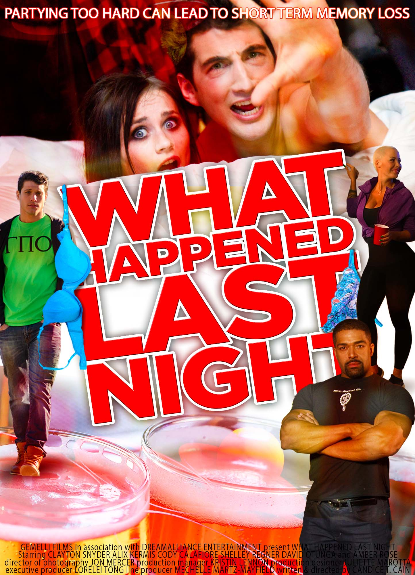 WHAT HAPPENED LAST NIGHT